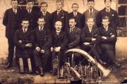 Ramučių parapijos pučiamųjų orkestras 1920 m.