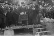 Kertinio akmens pašventinimas 1928 m.